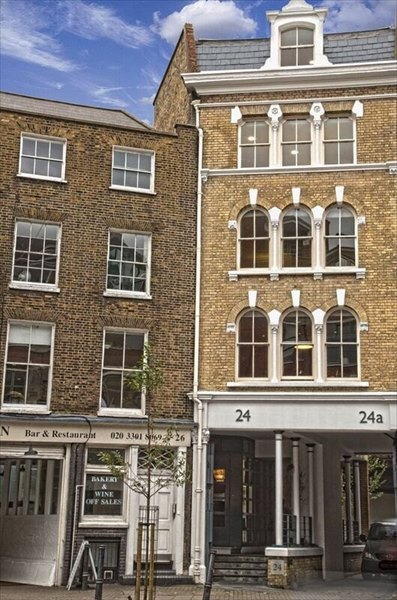 London office space 24 st john street ec1m 6ds - Small office space london property ...